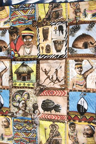 African print tablecloths